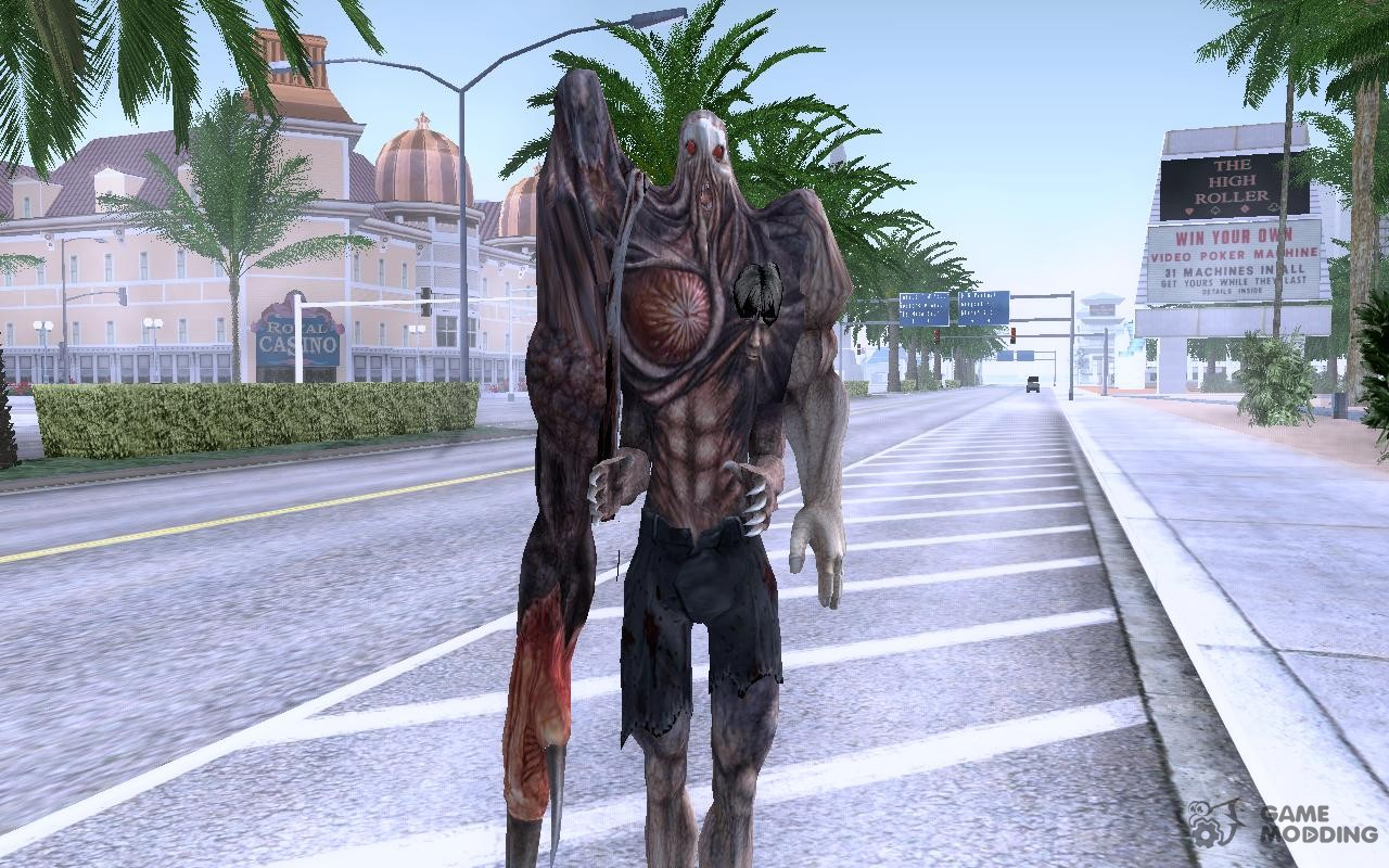 William Birkin 3 form for GTA San Andreas