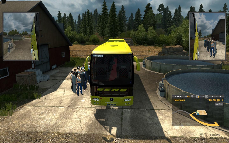 Passenger mod 1 8 for Euro Truck Simulator 2