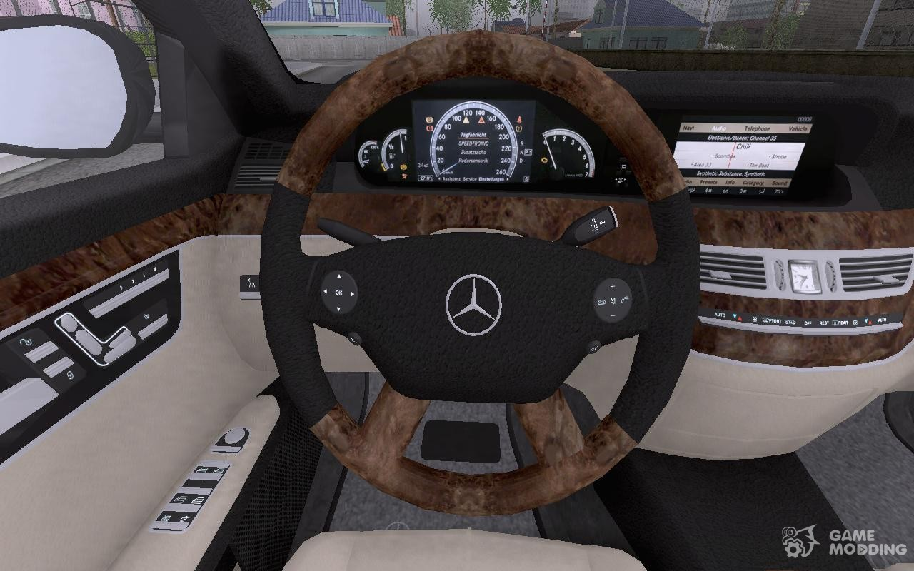 2006 mercedes benz s500 w221 for gta san andreas right view