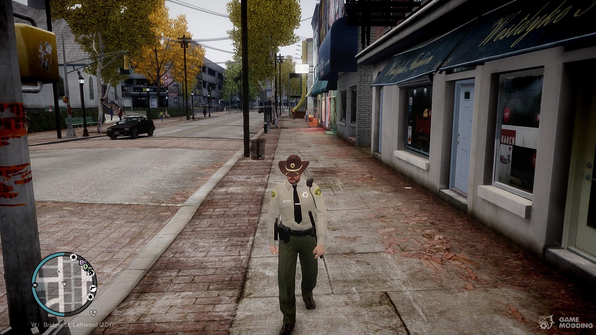 GTA V sheriff for GTA 4