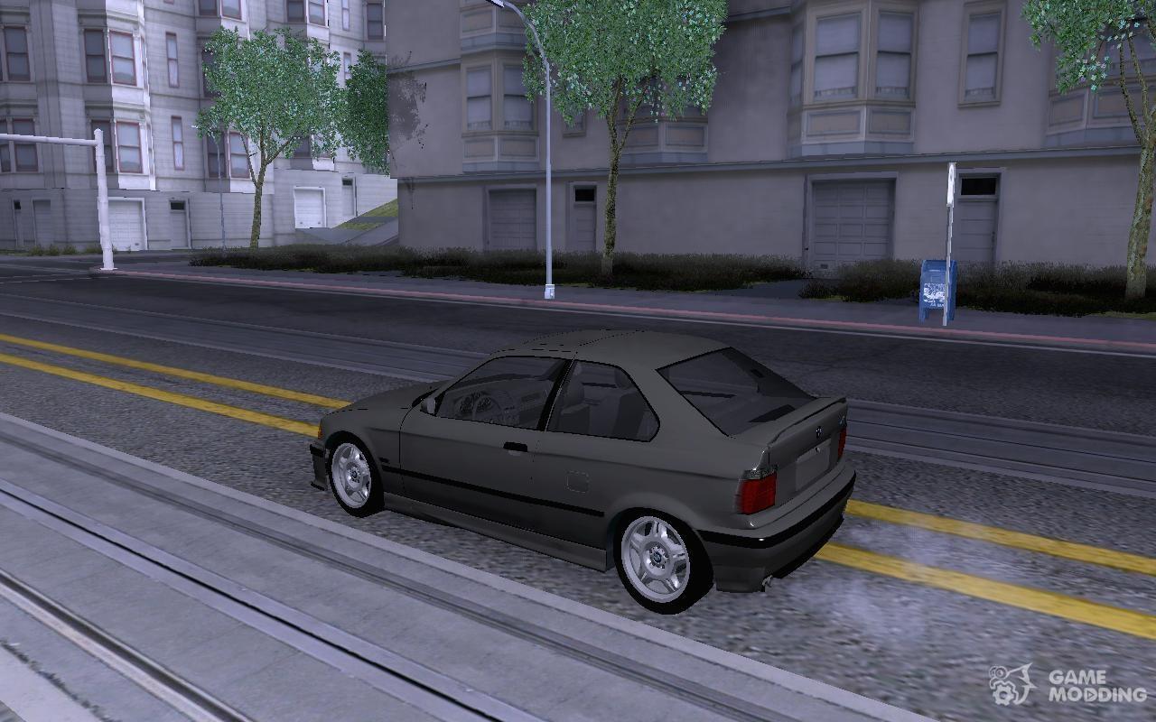 Bmw M3 E36 Compact For Gta San Andreas