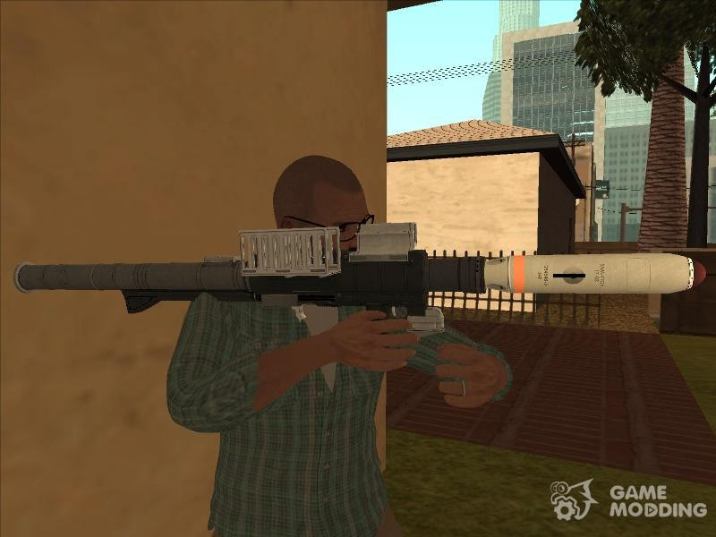Weapon pack GTA V for GTA San Andreas