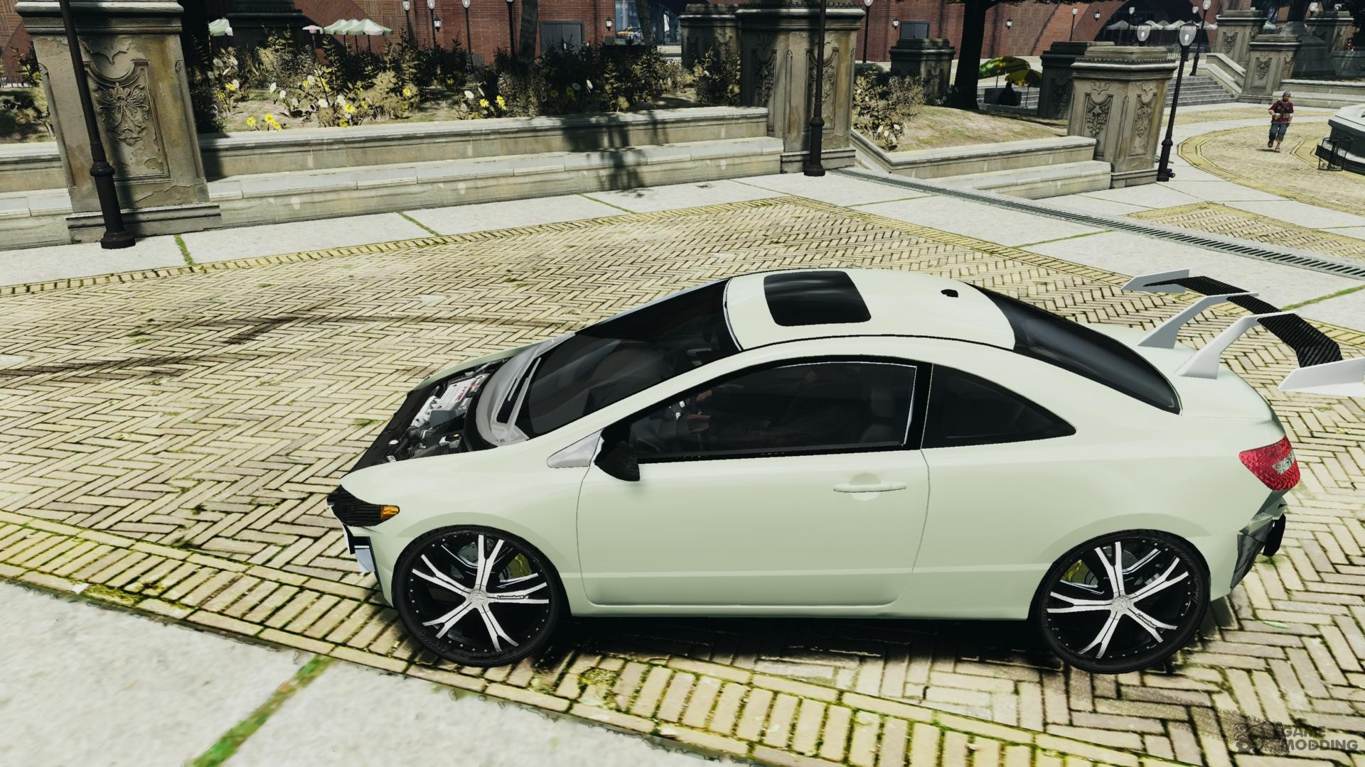 honda civic si car tuning for gta 4. Black Bedroom Furniture Sets. Home Design Ideas