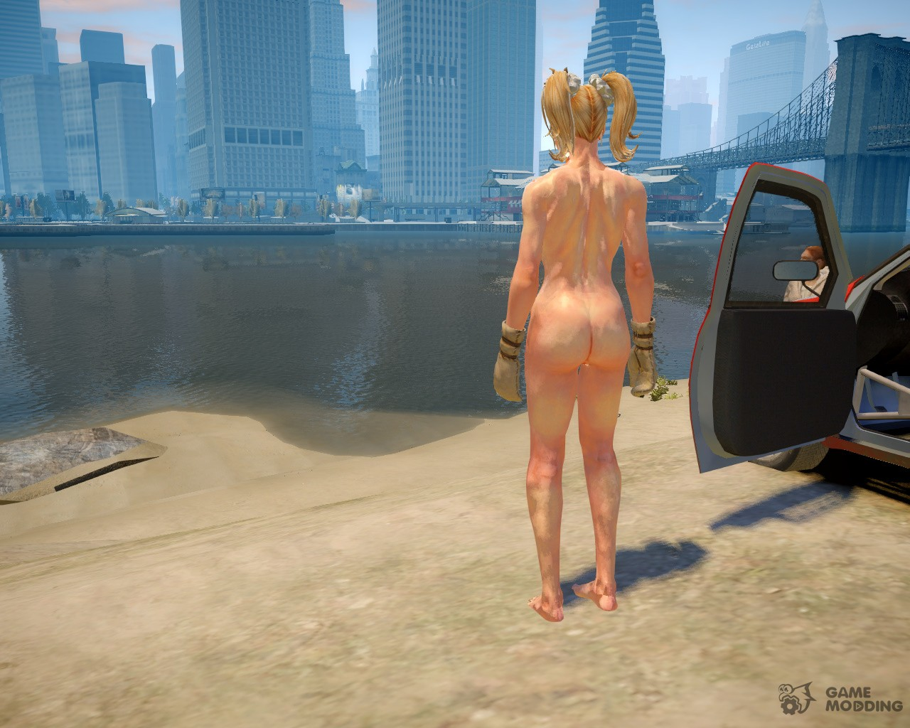 Naked girl on gta porn tube