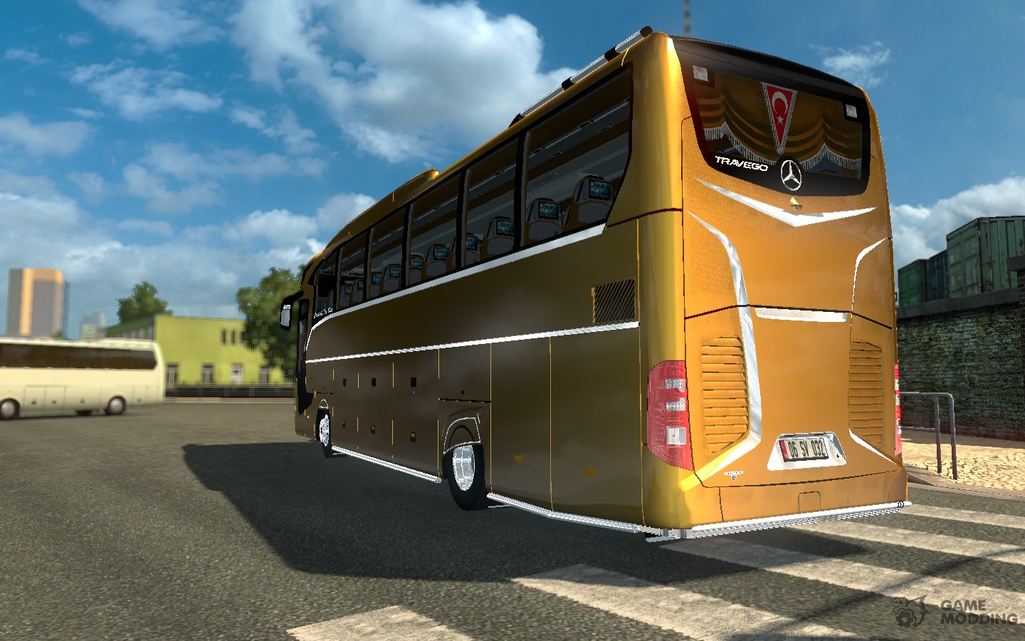 Mercedes-Benz Travego 2016 for Euro Truck Simulator 2