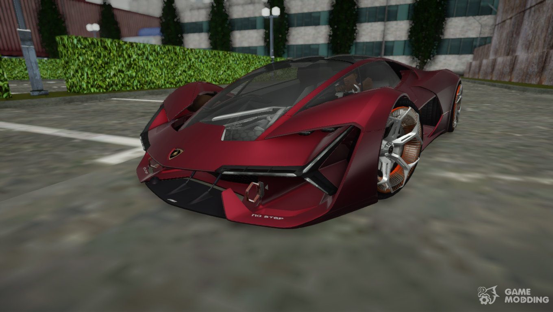 2017 Lamborghini Terzo Millennio For Gta San Andreas