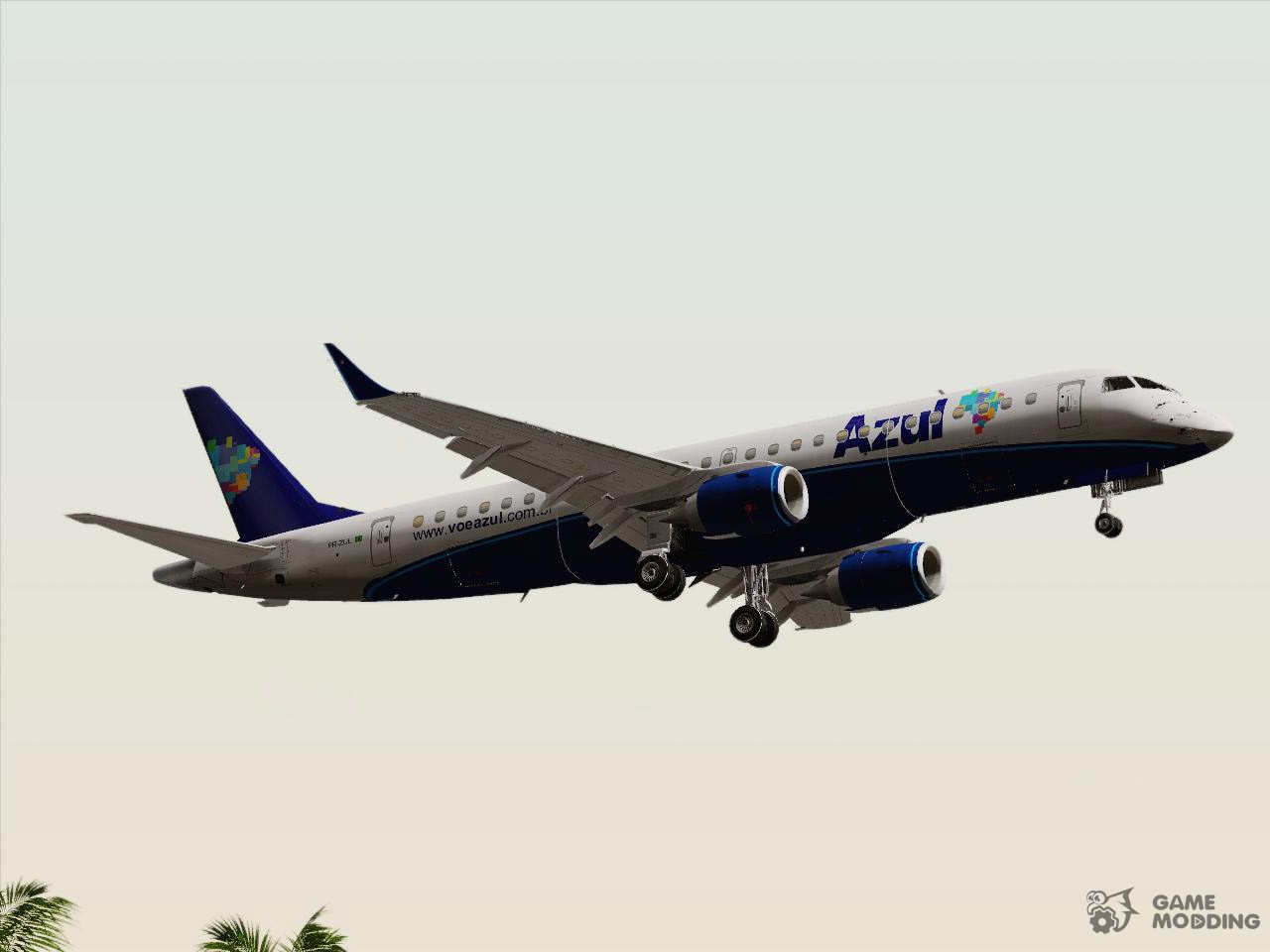 embraer erj 190 azul brazilian airlines  pr zul  for gta Boeing 777 Boeing 767