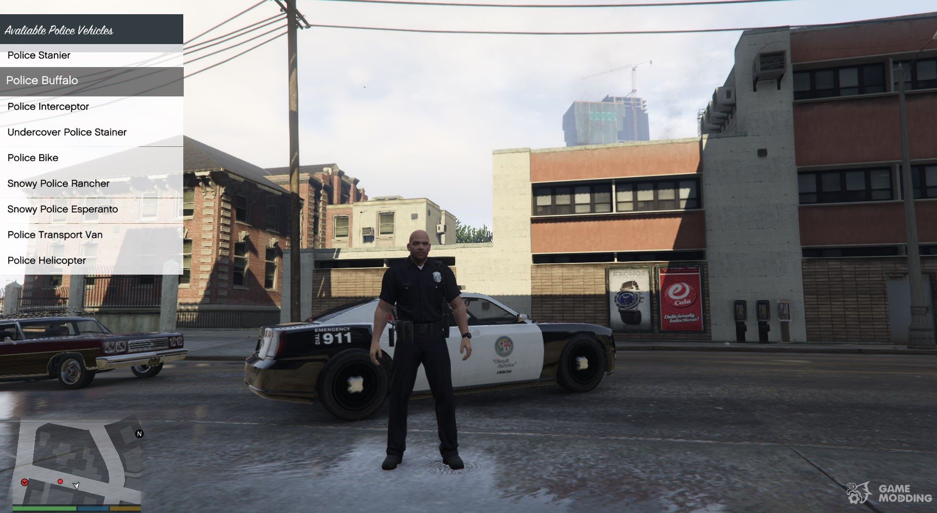 how to download a police mod gta v