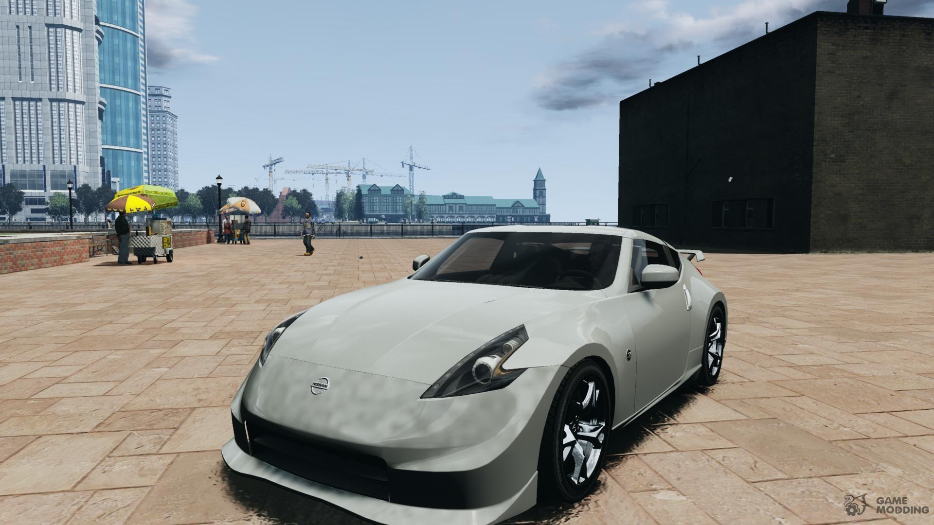Nissan 370z nismo v1 for gta 4