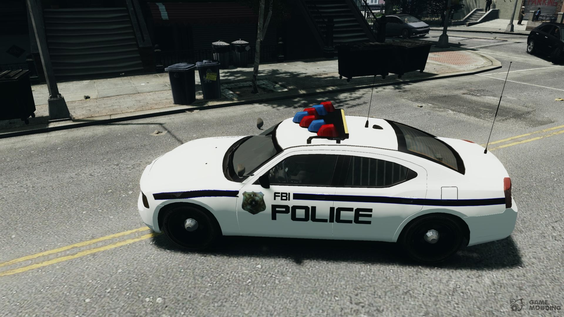 FBI Dodge Charger Police For GTA 4