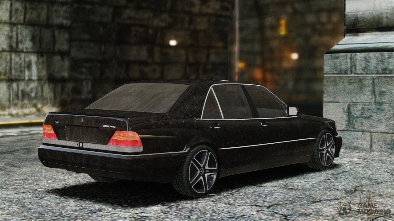 Mercedes benz s70 for gta 4 for Mercedes benz gta