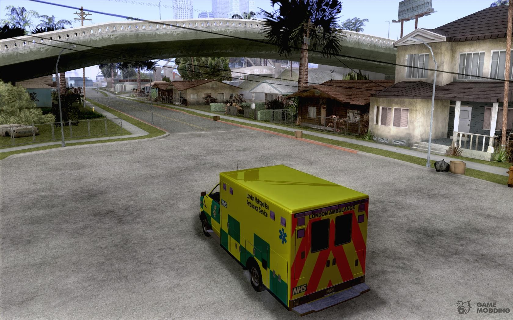 London Ambulance For GTA San Andreas - Gta 6 london map