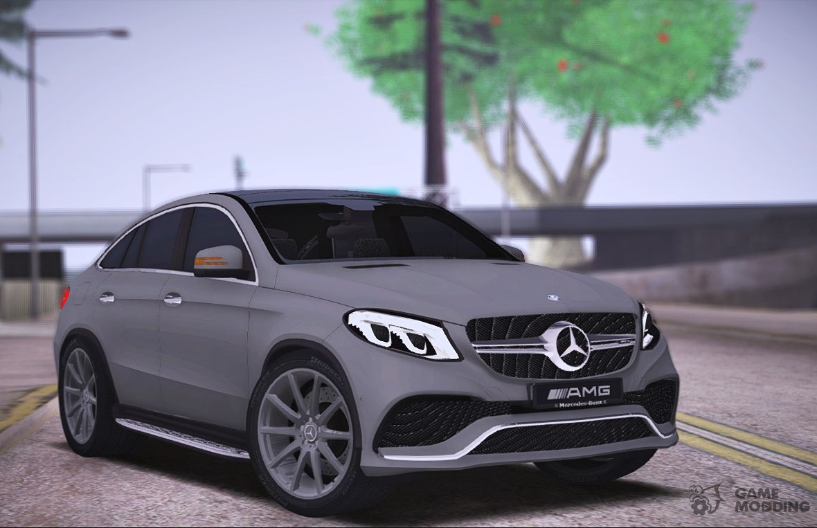 mercedes benz gle 63 amg coupe for gta san andreas. Black Bedroom Furniture Sets. Home Design Ideas