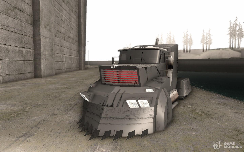 Скачать мод грузовика для гта сан андреас