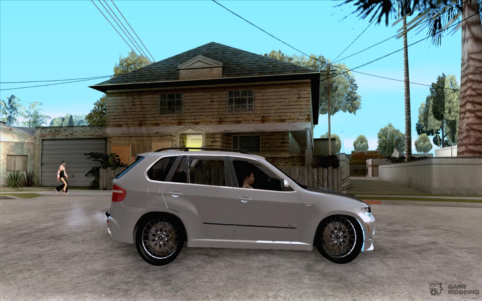 bmw x 5 with wagon beam tuning for gta san andreas. Black Bedroom Furniture Sets. Home Design Ideas