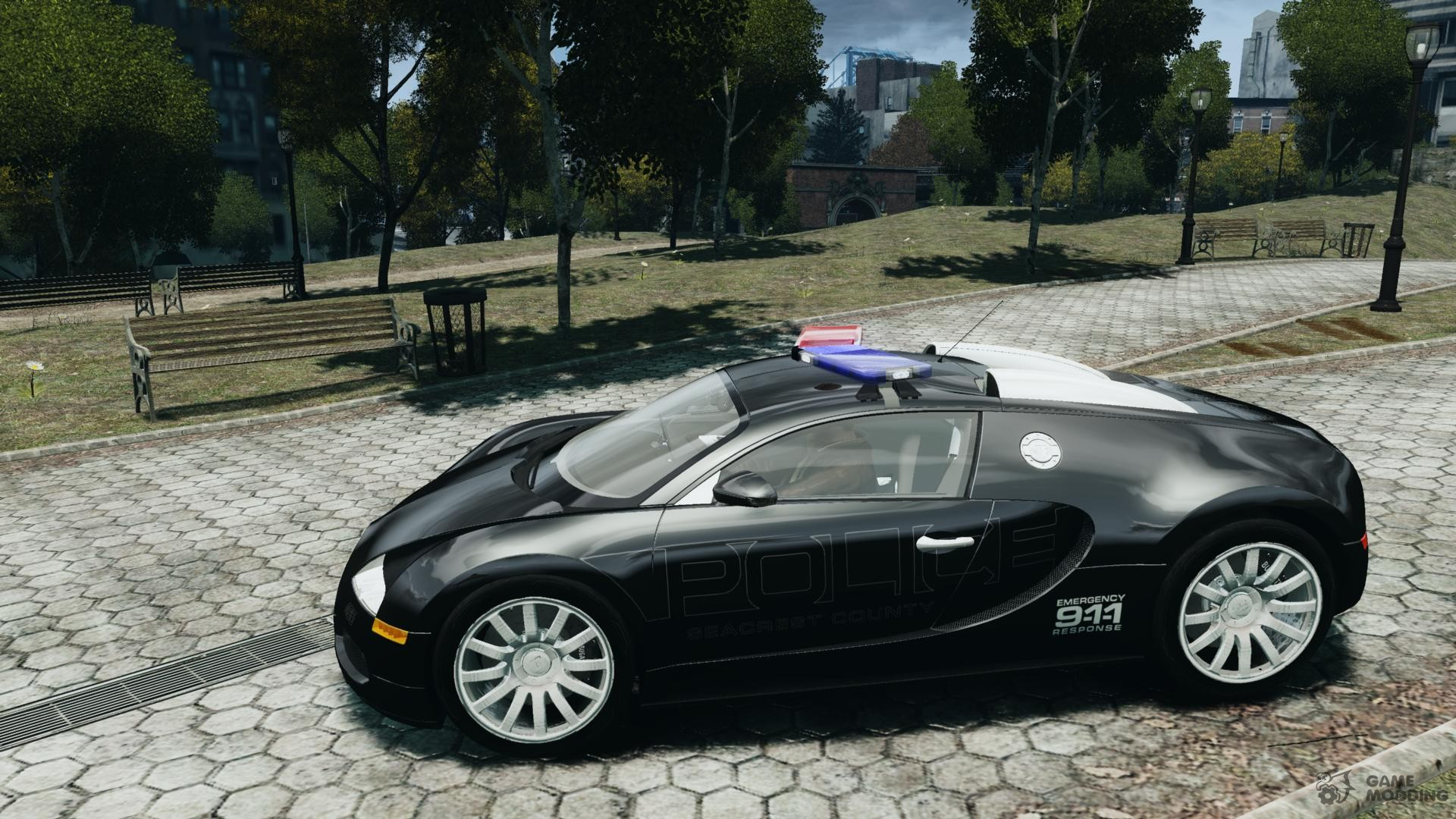bugatti veyron 16 4 police epm els for gta 4. Black Bedroom Furniture Sets. Home Design Ideas