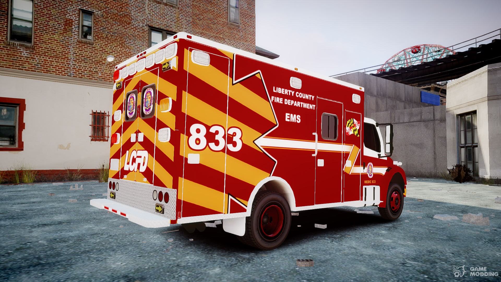 Freightliner M2 2014 Ambulance for GTA 4