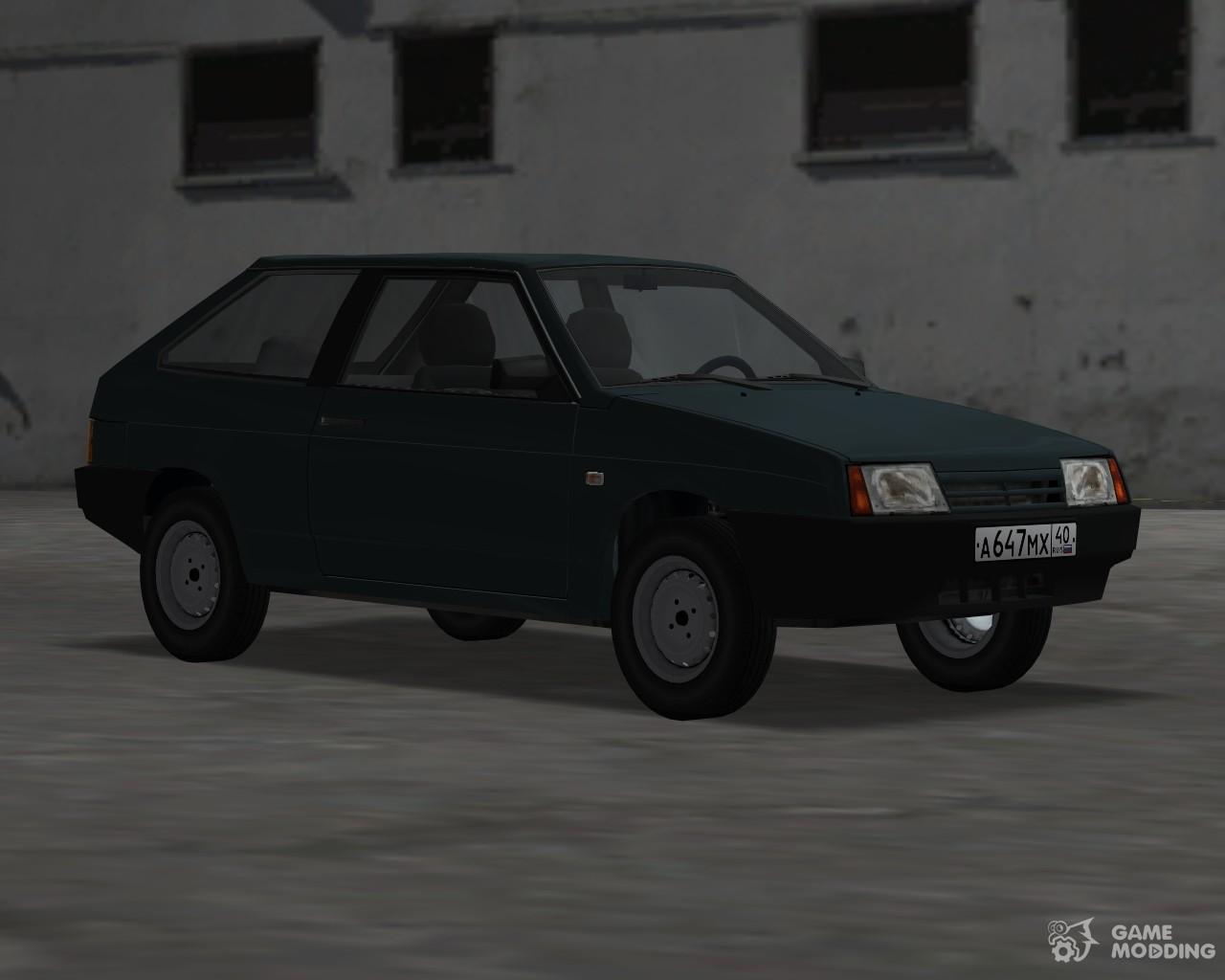 Blista Compact Car In Gta Vice City