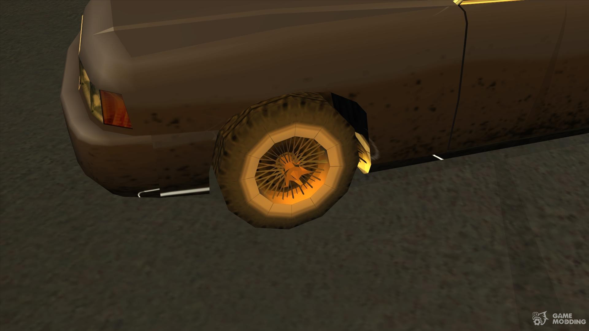 Wheels from NFS Underground 2 SA Style for GTA San Andreas