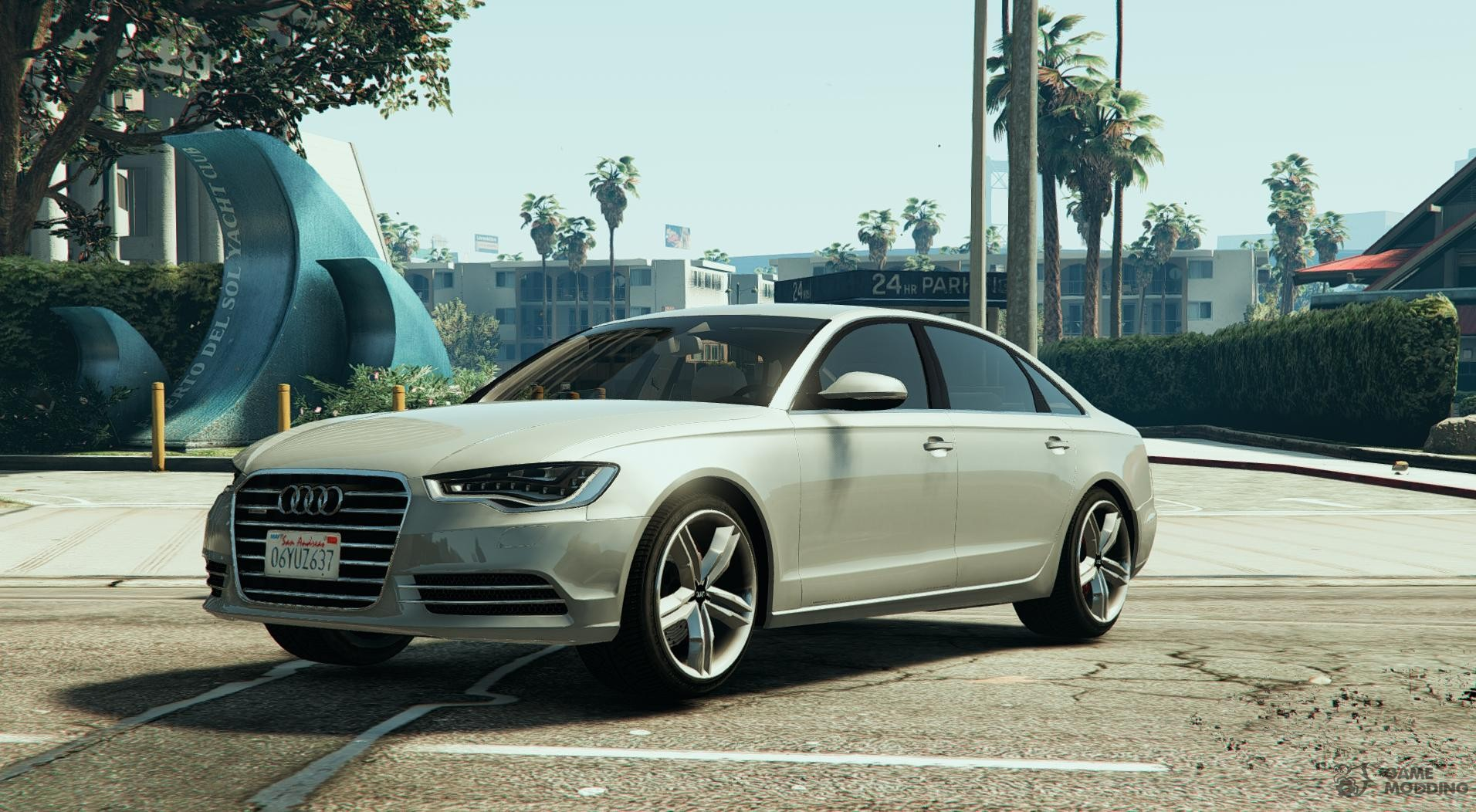 Obey Tailgater Replace For GTA - Audi car gta 5
