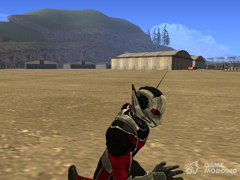 скачать мод на человека муравья в гта сан андреас - фото 9