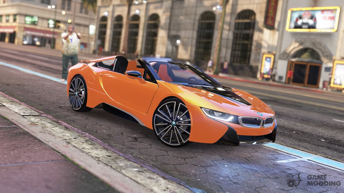 2019 Bmw I8 Roadster For Gta 5