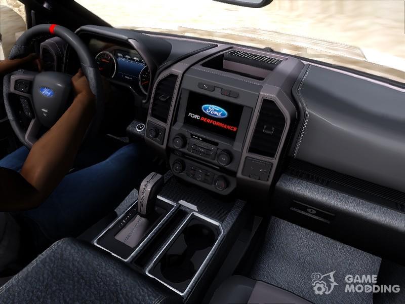 Ford F 150 Raptor Project Scorpio 2017 для Gta San Andreas