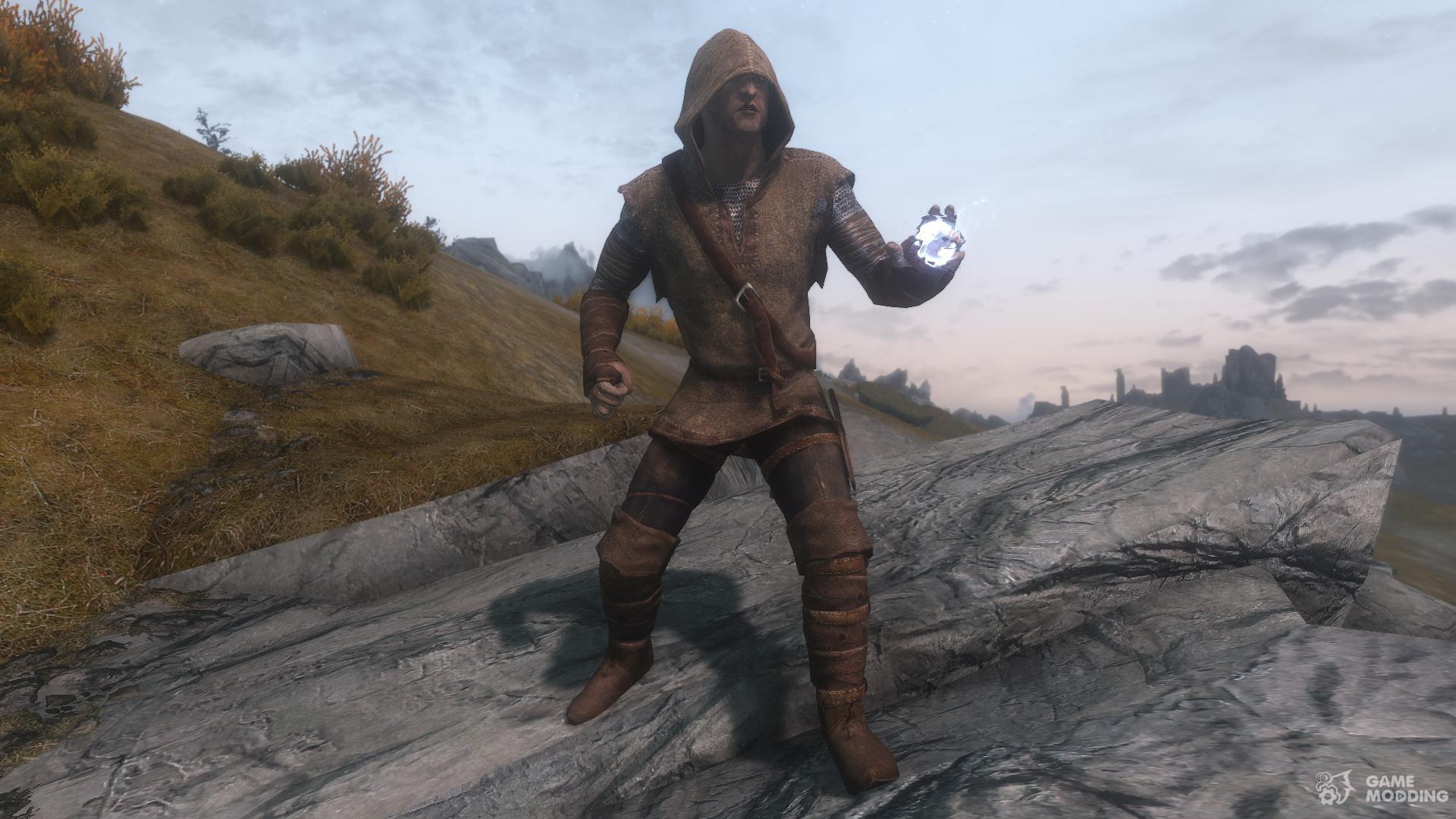 Hunter Archer Armor For Tes V Skyrim