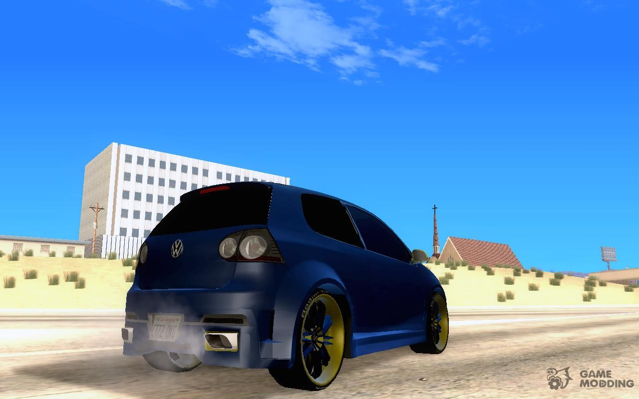 Volkswagen Golf V R32 Custom for GTA San Andreas