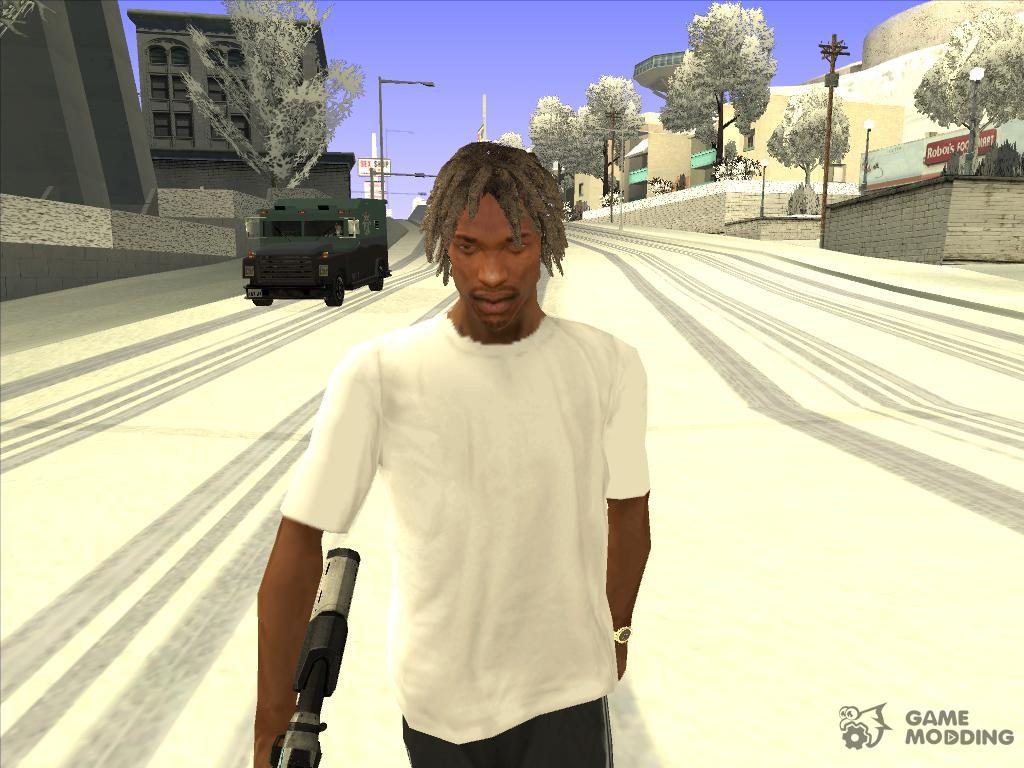 Online Hair Style: GTA V Online Hair Style V4 For GTA San Andreas