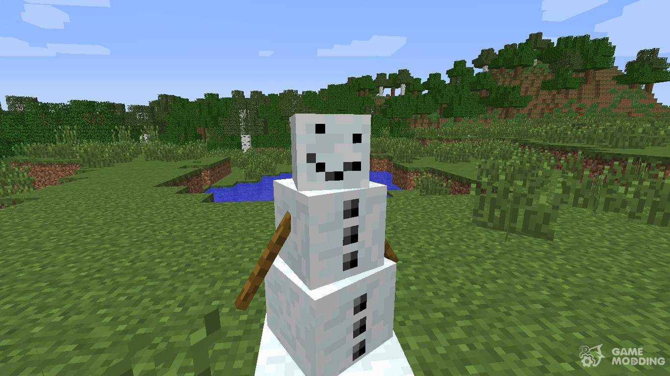 Как сделать мутанта снеговика 856
