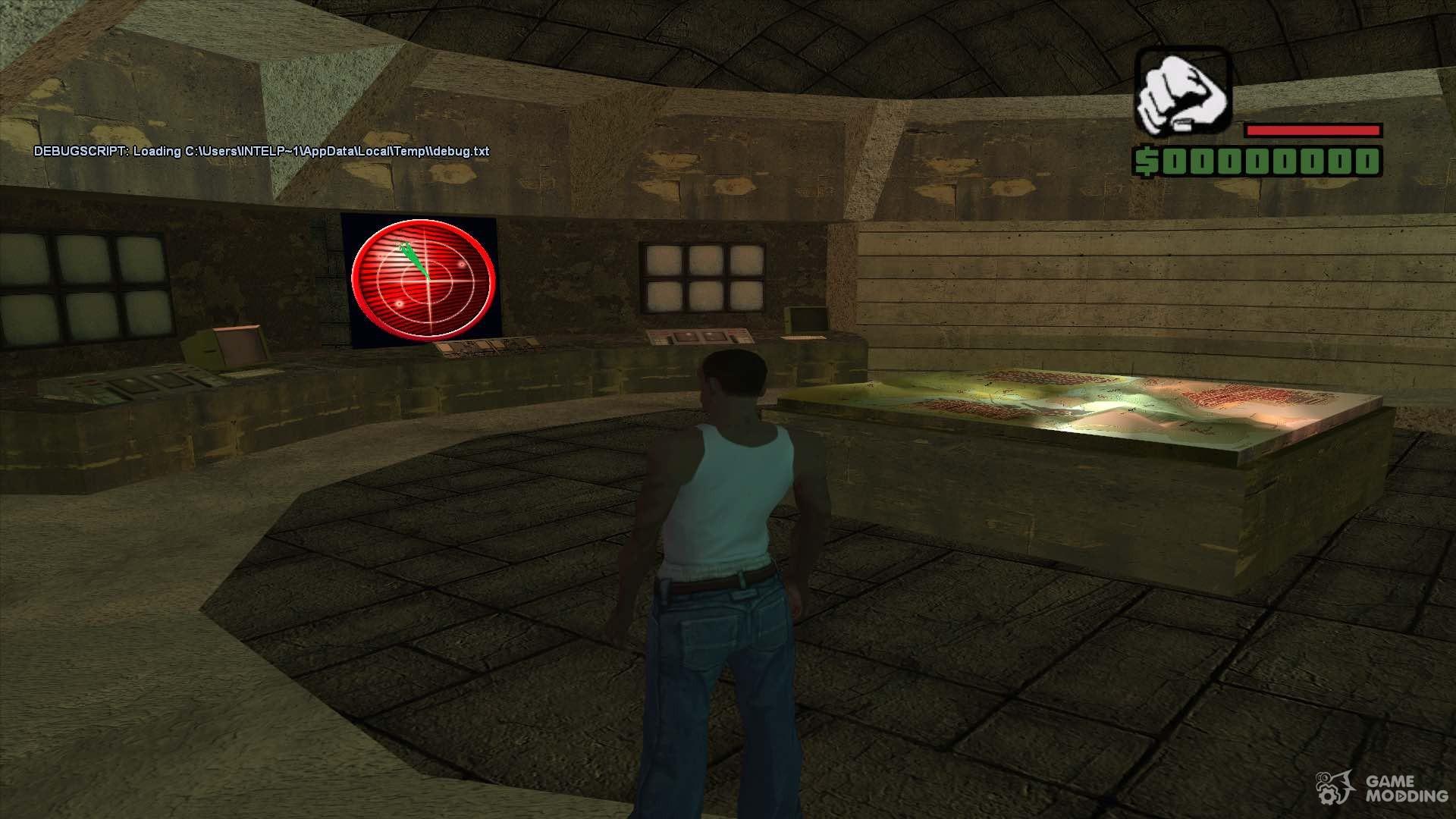 Area 51 Near Complete Retexture For Gta San Andreas