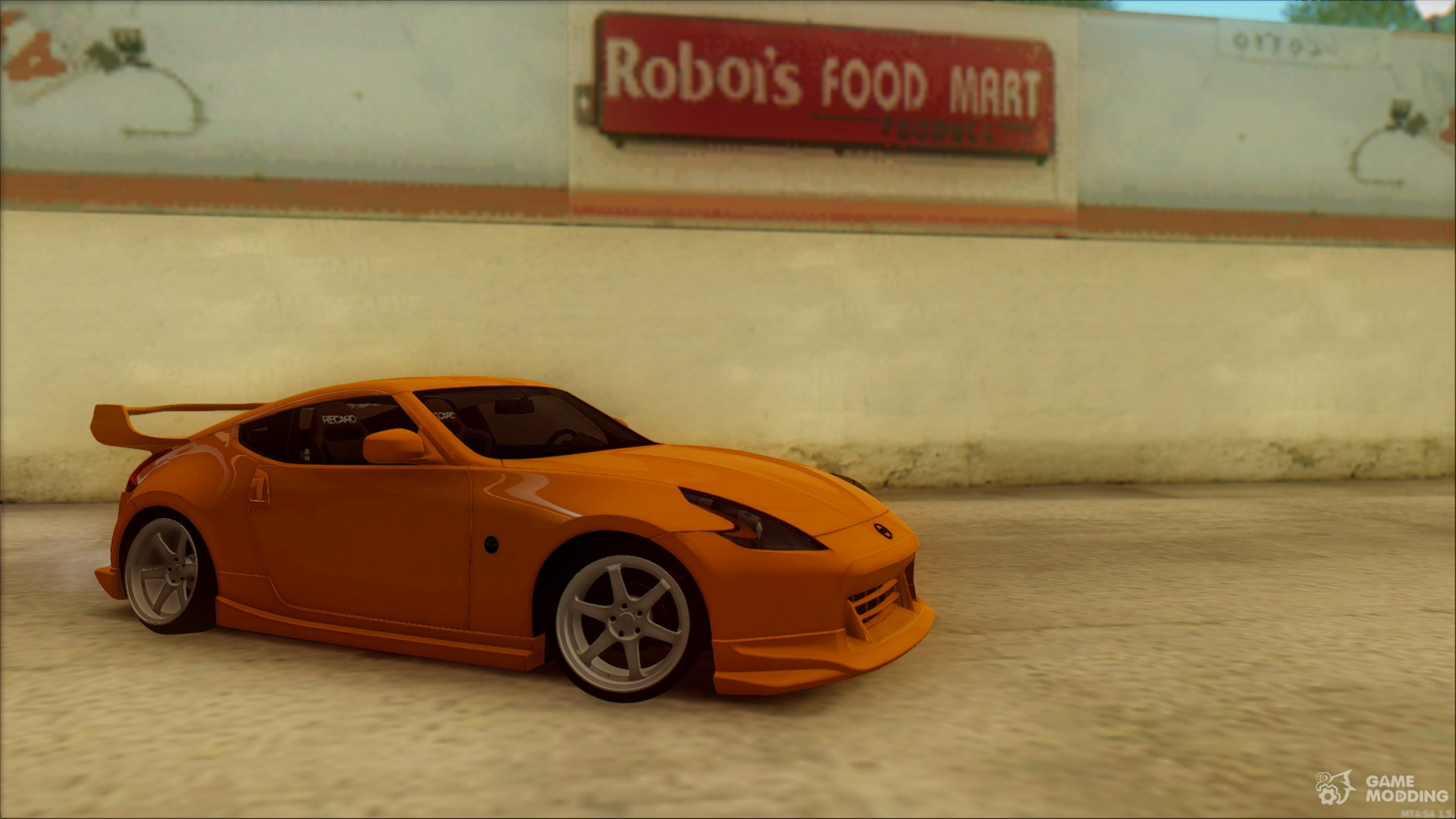 Nissan 370z for gta san andreas left view