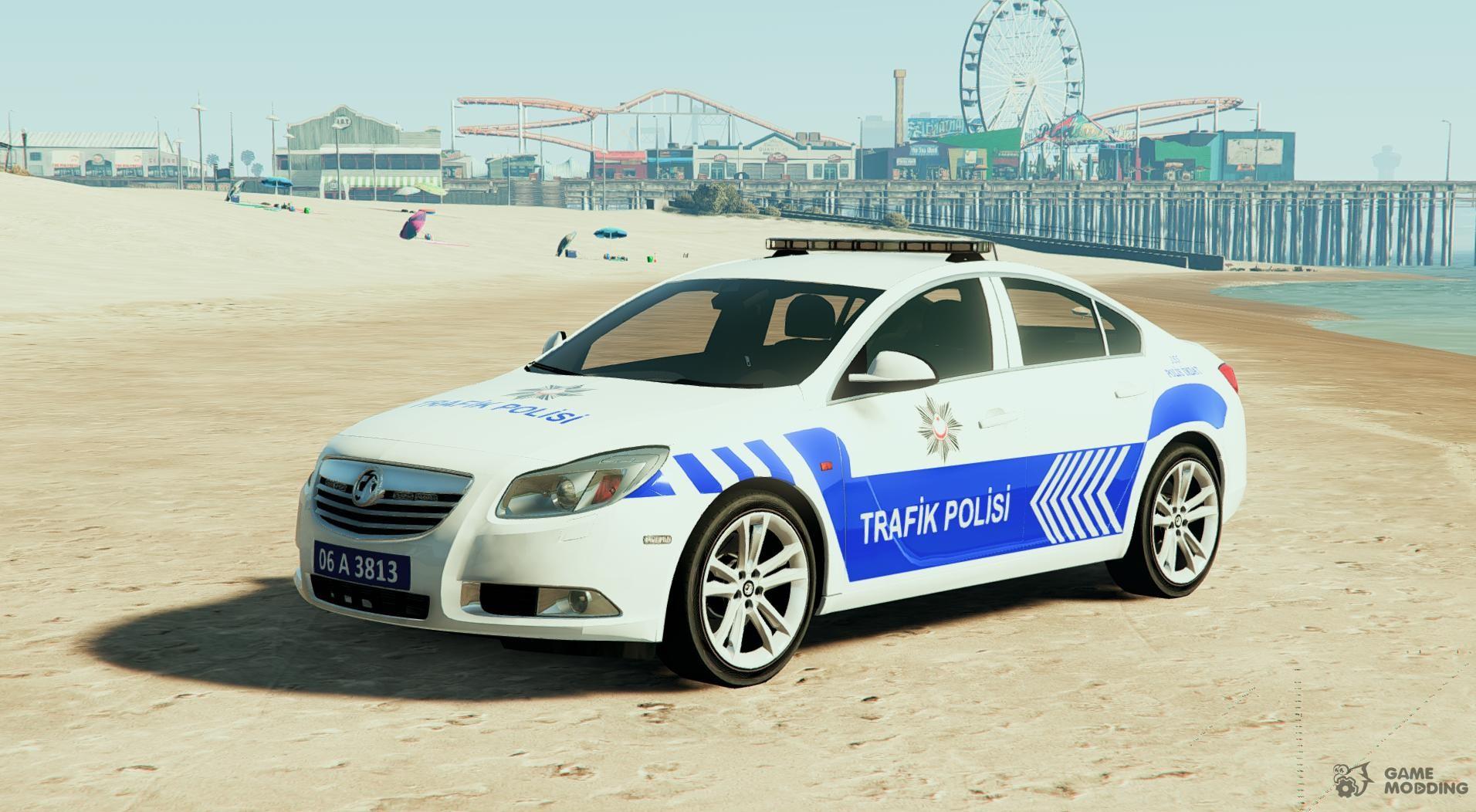 opel insignia 2016 yeni türk trafik polisi for gta 5