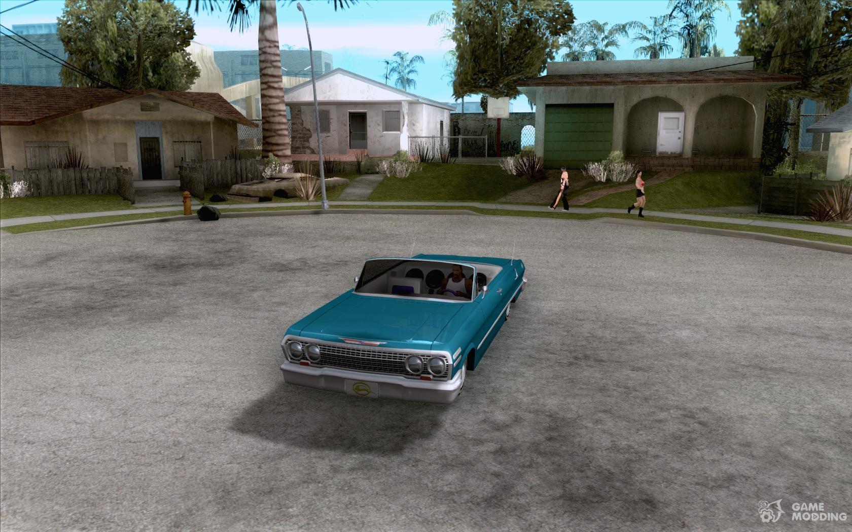 Chevrolet impala 4 door hardtop 1963 for gta san andreas - Chevrolet Impala Hardtop 1963 For Gta San Andreas