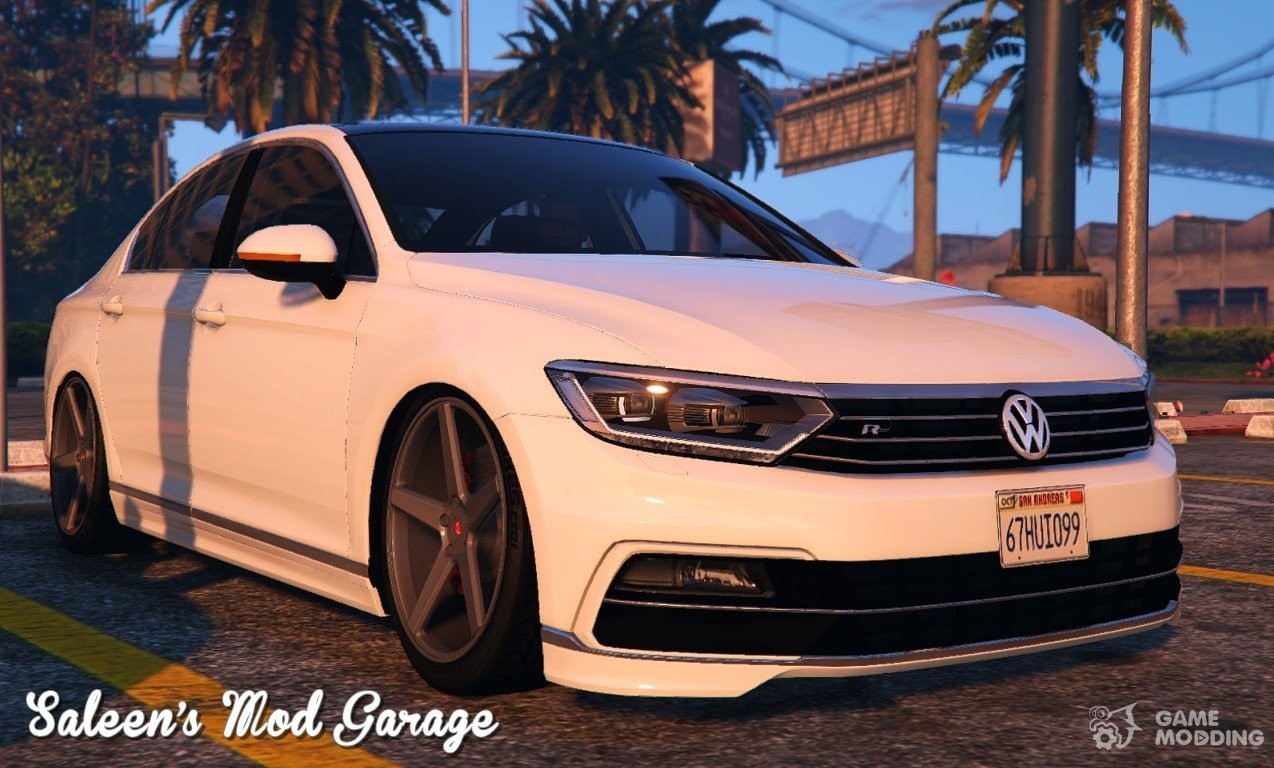 2016 volkswagen passat r line sedan b8 for gta 5. Black Bedroom Furniture Sets. Home Design Ideas