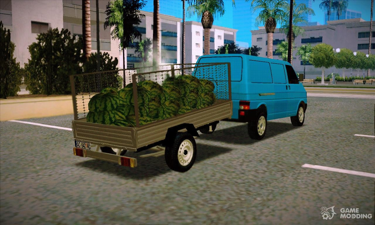 trailer for volkswagen transporter t4 for gta san andreas. Black Bedroom Furniture Sets. Home Design Ideas