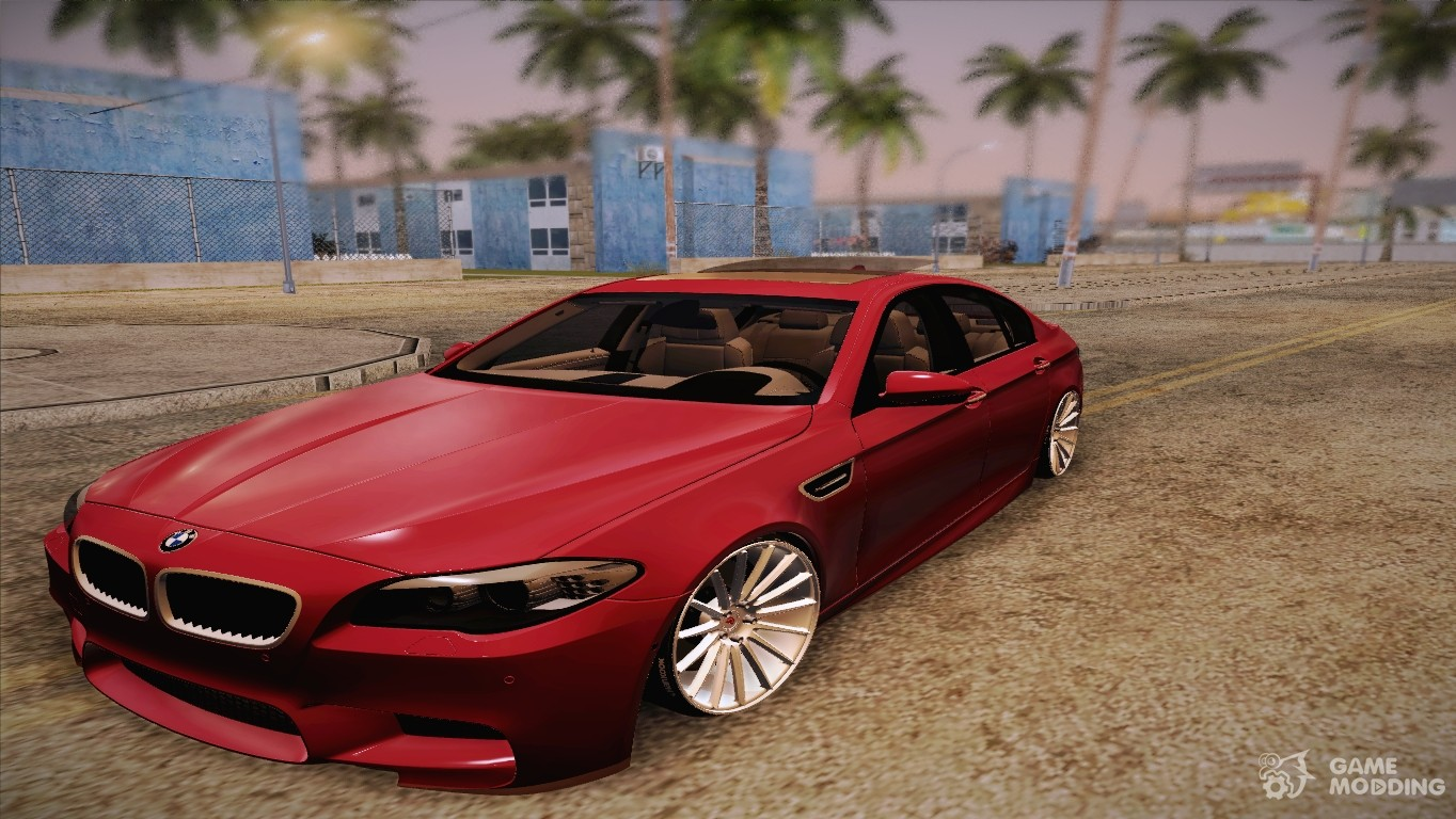 bmw m5 f10 2012 for gta san andreas. Black Bedroom Furniture Sets. Home Design Ideas