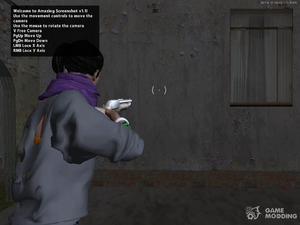 GTA 5 Shooting Camera (2017) for GTA San Andreas