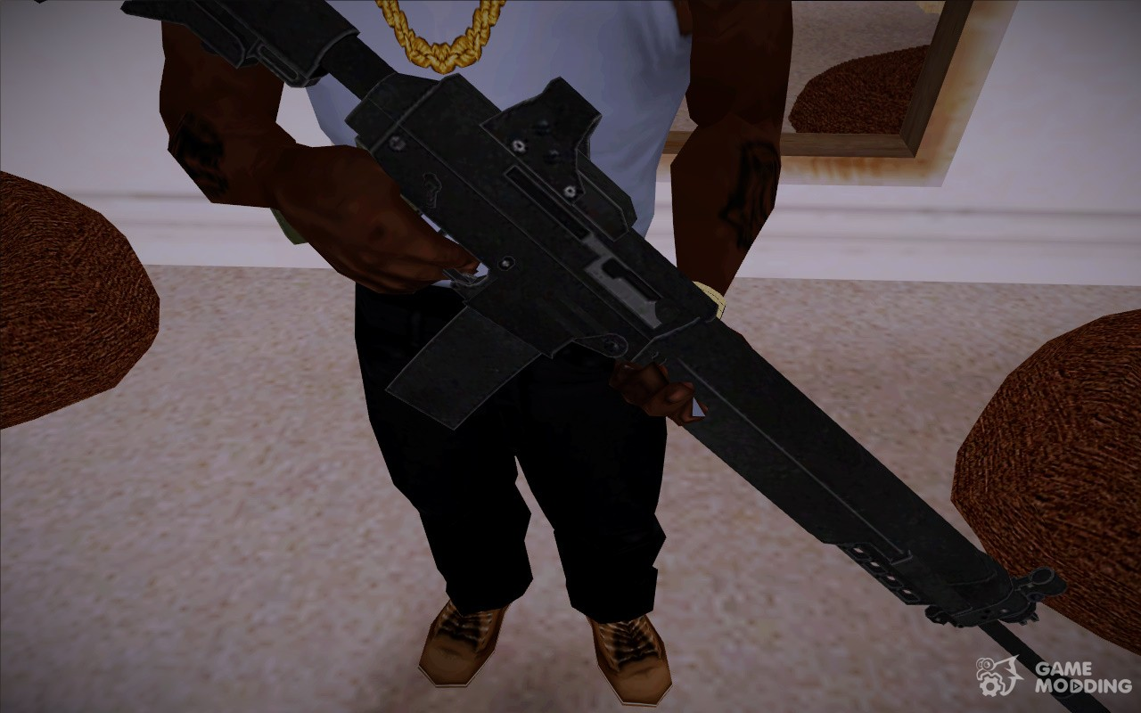 SIG 556 from RE 5 for GTA San Andreas Sig 556 Resident Evil 5