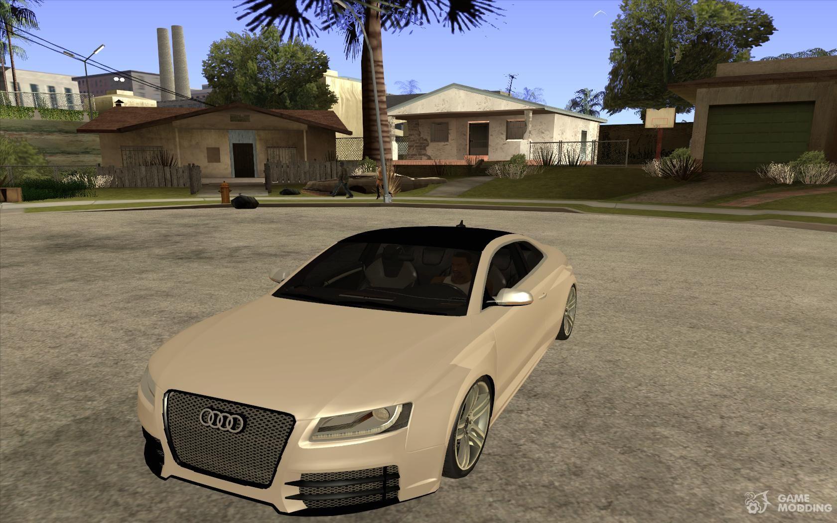 Audi S Quattro Car Tuning For GTA San Andreas - Audi car gta 5