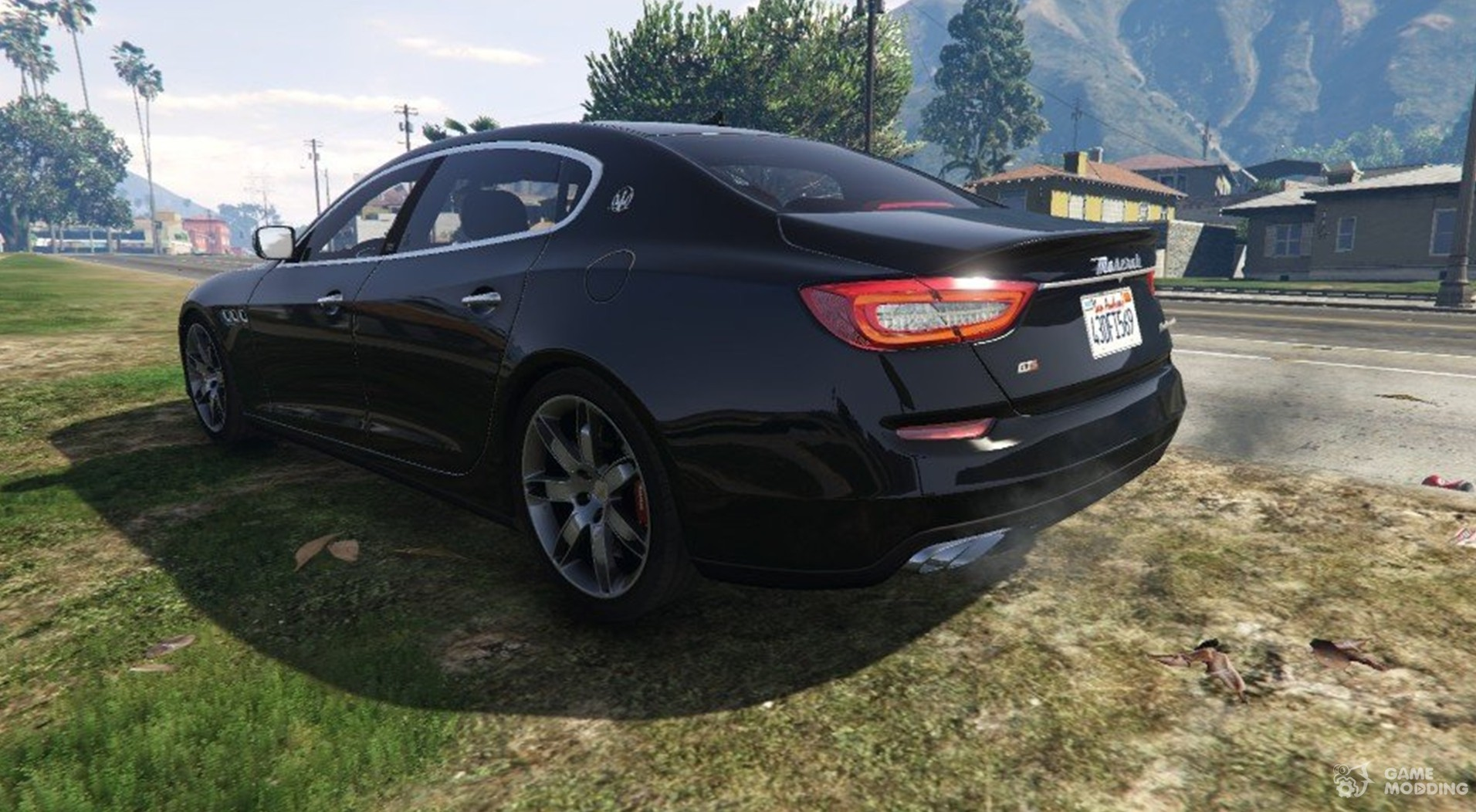 2013 maserati quattroporte gts 1 0 for gta 5. Black Bedroom Furniture Sets. Home Design Ideas