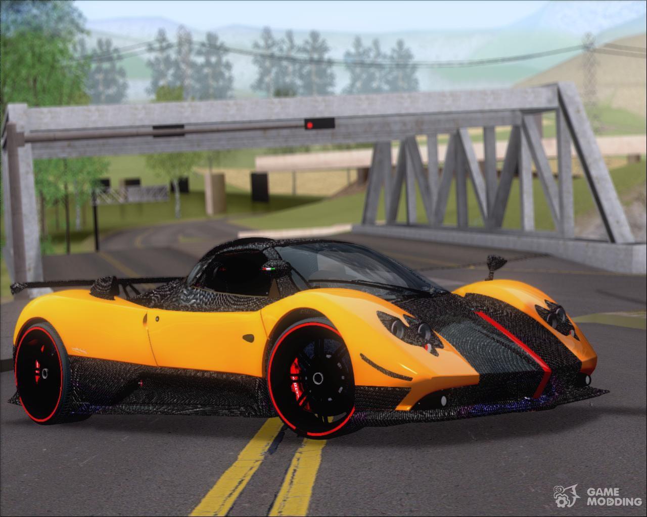 Genial Pagani Zonda Cinque 2009 Autovista For GTA San Andreas
