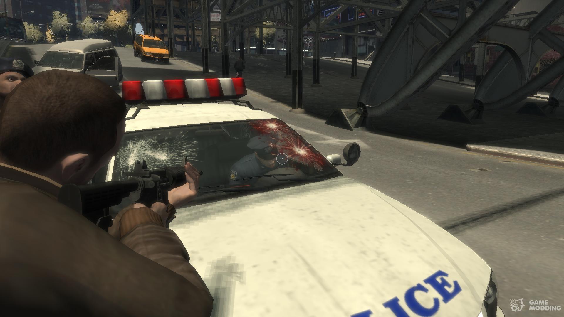 Скачать мод police для gta 4