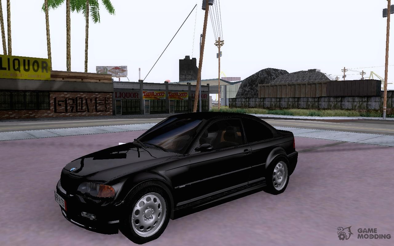 bmw 318i e46 2003 for gta san andreas. Black Bedroom Furniture Sets. Home Design Ideas