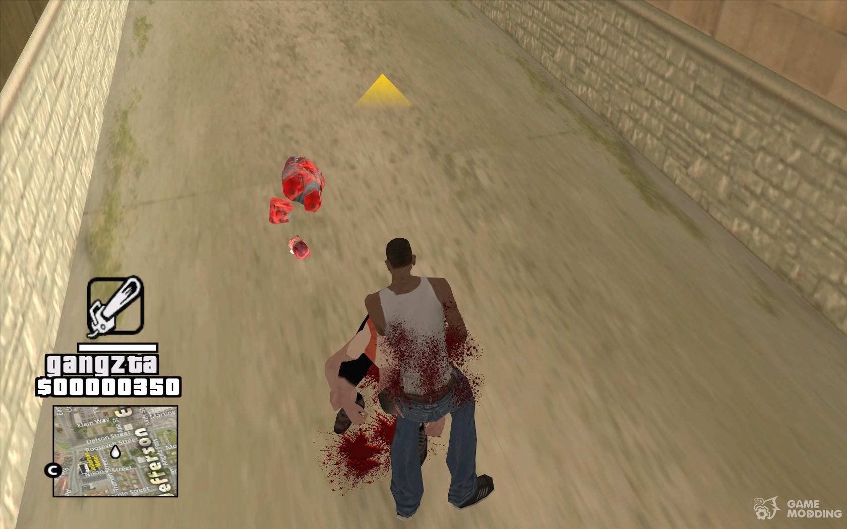 Скачать мод zombie gta san andreas