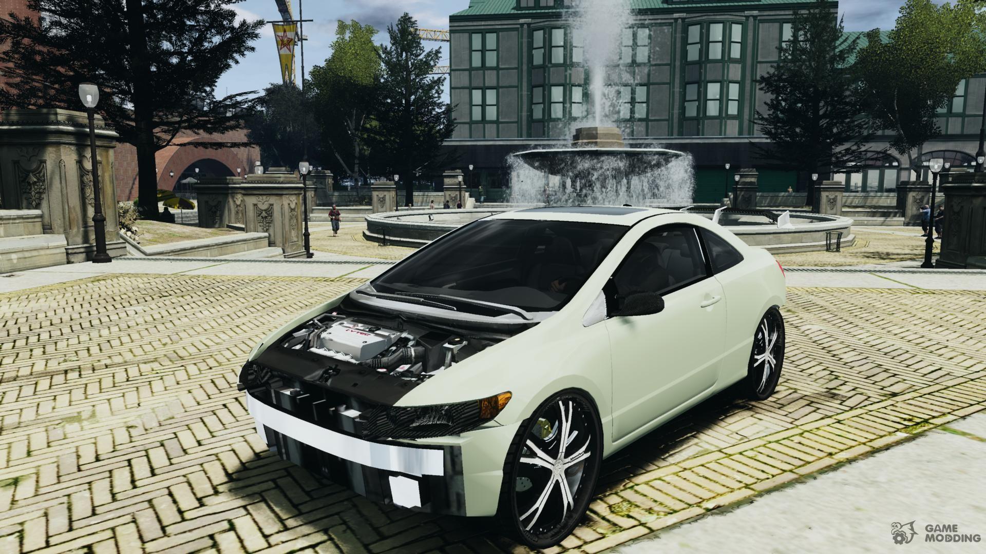 Honda Civic Si Car Tuning for GTA 4