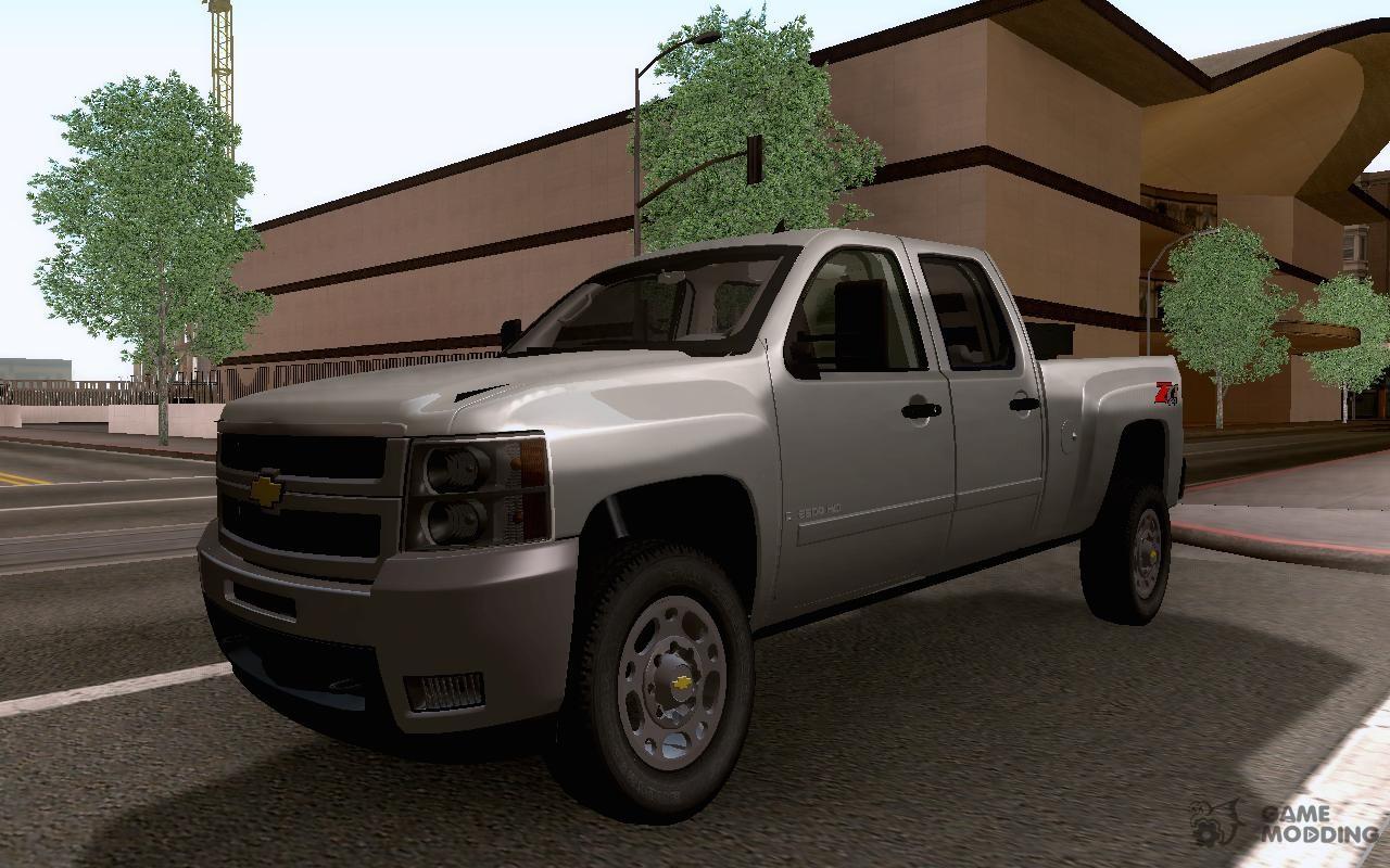 Chevrolet silverado 2500hd z71 2010 for gta san andreas