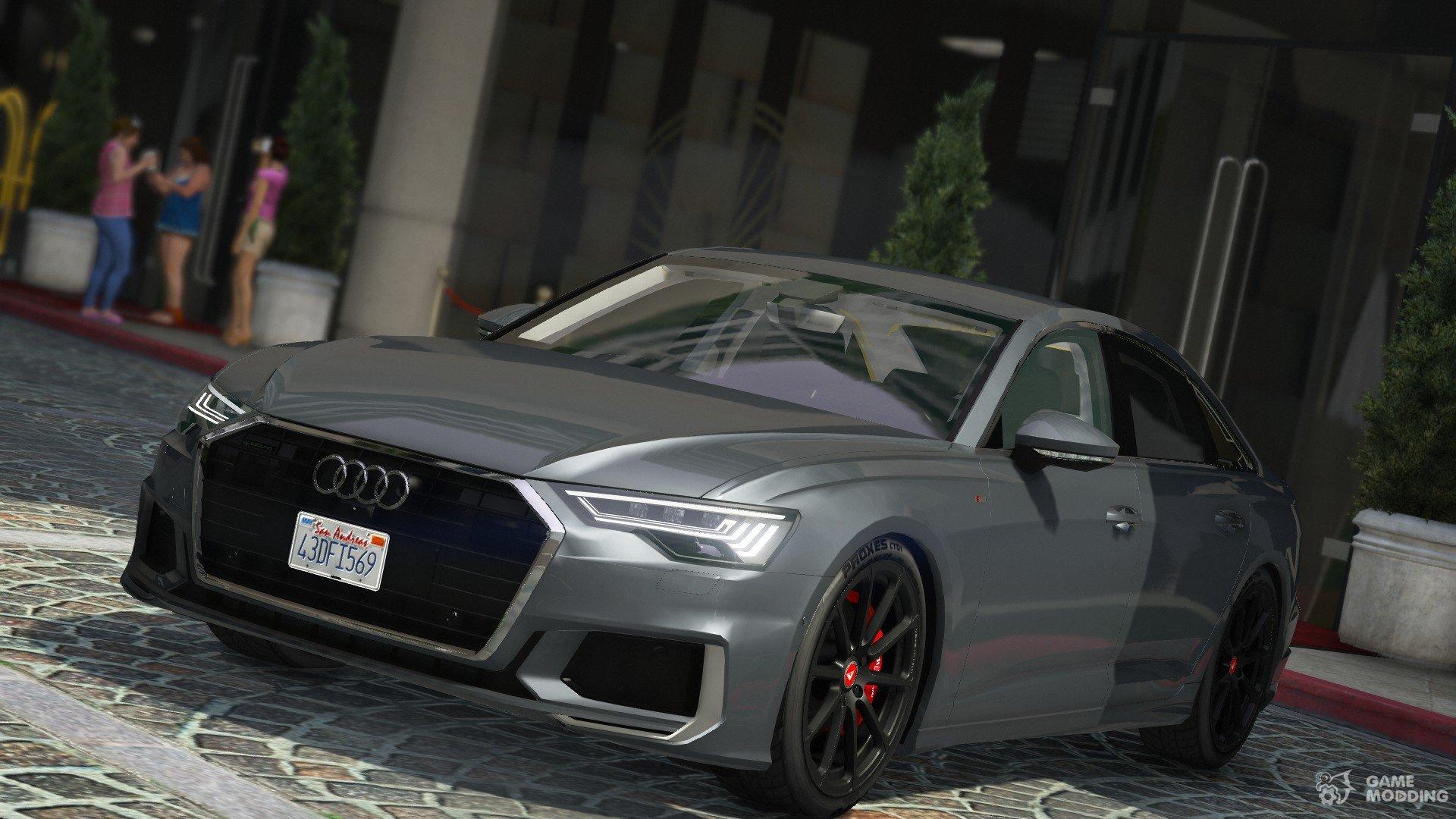 2019 55 Audi A6 Tfsi Quattro S Line For Gta 5