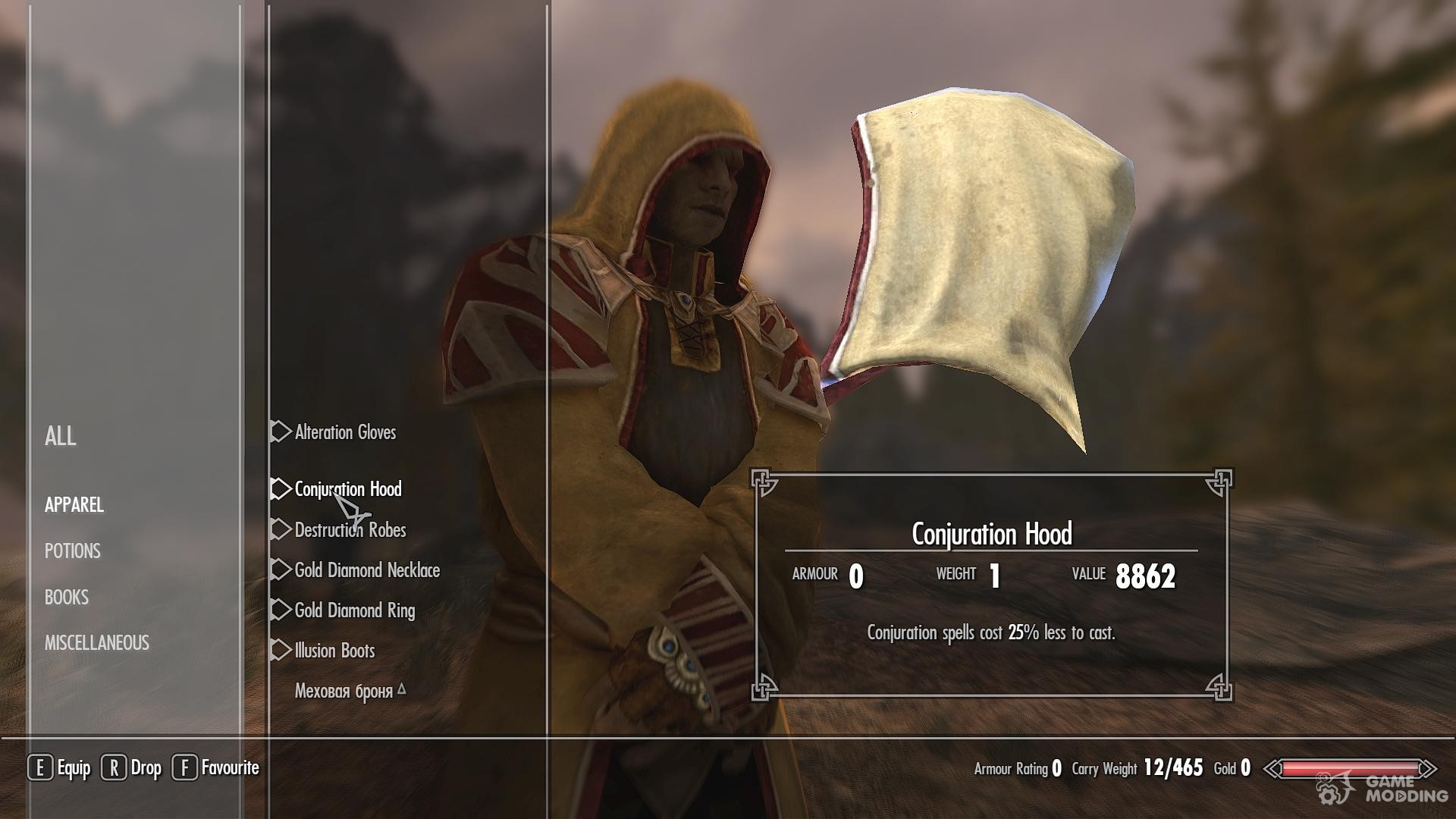 The Real Mages Armor for TES V: Skyrim